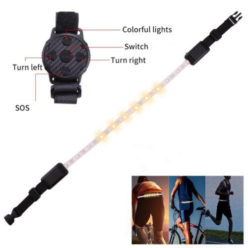Remote Bike Run Safety Reflective Light Belt Multifunctional LED Warning Light