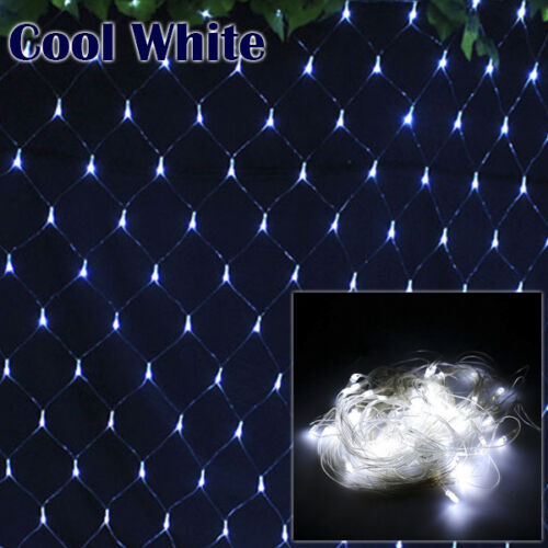 3x2M//6x4M LED Net Lights Garden Prom Curtain Christmas Trees Wedding Party Decor