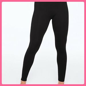 2b834a0ee6614 Details about NEW Victoria's Secret PINK Yoga Leggings Cotton BLACK M  Medium EveryDay Hot Gift