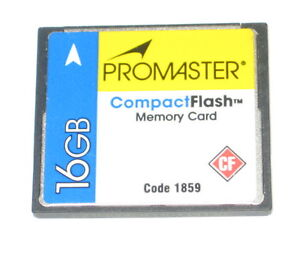 Promaster 16GB Compact Flash Memory Card 150x #1859