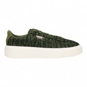 PUMA Basket Platform VR Wns Olive Night Women Fashion Shoes SNEAKERS  36409201 UK 4. About this product. Stock photo  Picture 1 of 1. Stock photo c8a45fd31