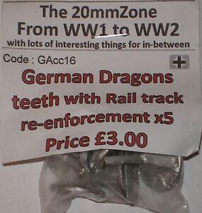 Early-War-20mm-1-72-German-Dragons-Teeth-With-Rail-Tracks-5