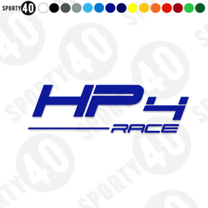 BMW HP4 Race-Vinyl Decals/Stickers-BMW Race HP4 S1000 RR - 5203-0319