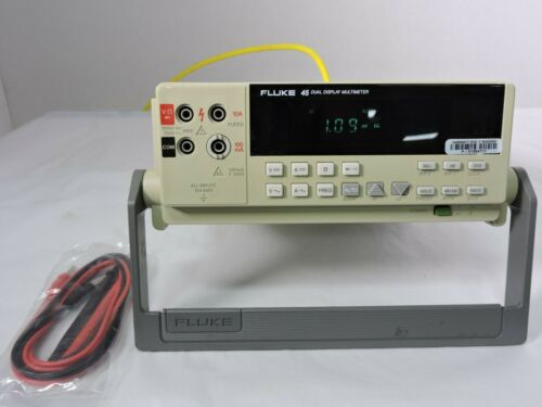 Fluke 45 Dual Display Digital Multimeter 90 Day Warranty