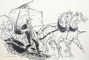 ARTUR-MAROKVIA-ORIGINAL-ILLUSTRATION-DRAWING-AMERICAN-HERITAGE-1958