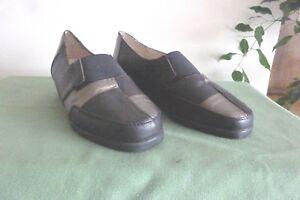 p cuir Marron Chaussures luxat 38 Fonçe Neuves qSEqn5wI