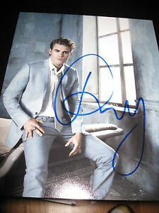 PAUL-WESLEY-SIGNED-AUTOGRAPH-8x10-PHOTO-VAMPIRE-DIARIES-IN-PERSON-SEXY-HUNK-B