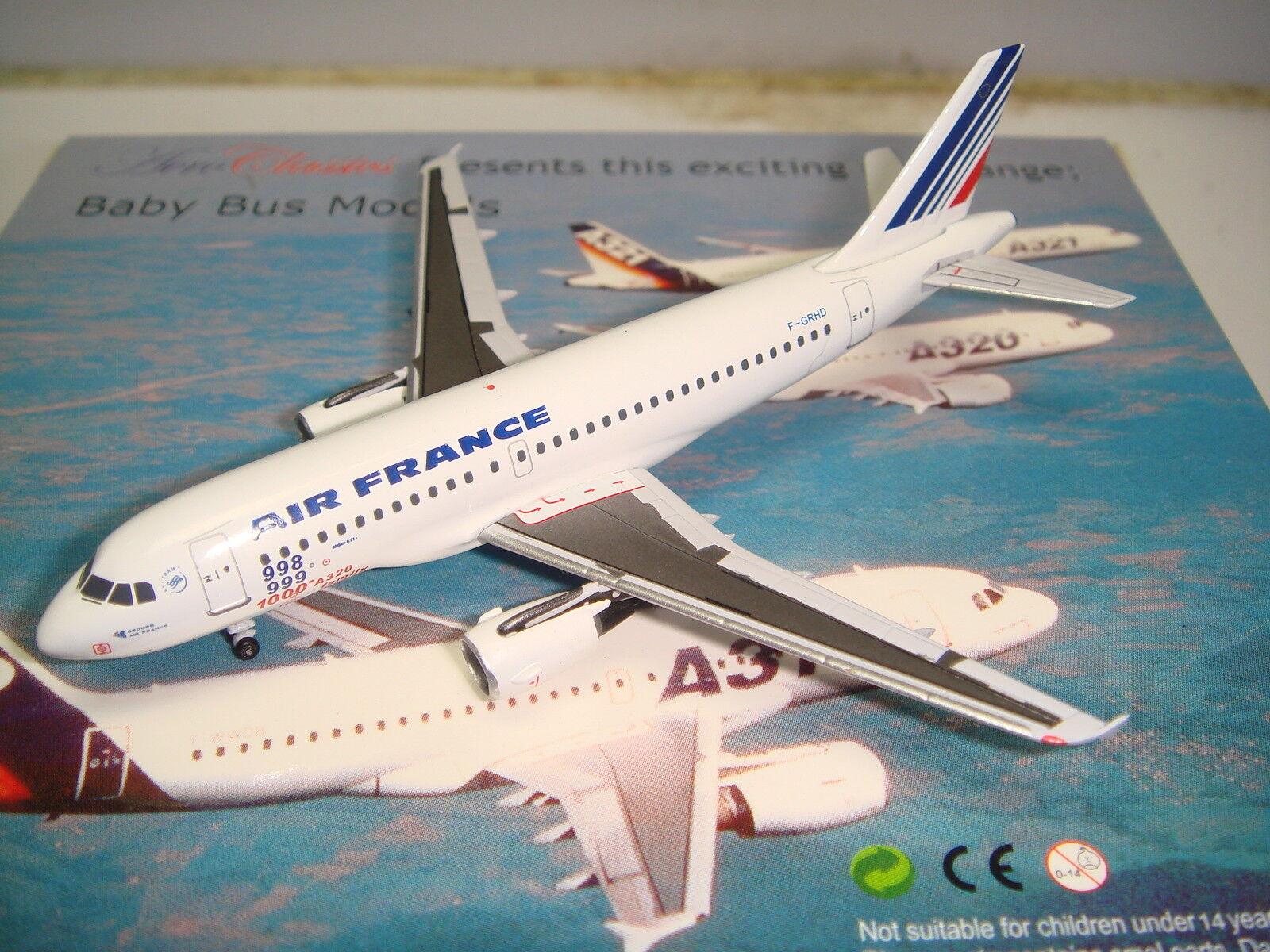 Aeroclassics Air France AF A319-100  1990s Color - 1000th Airbus A320  1 400