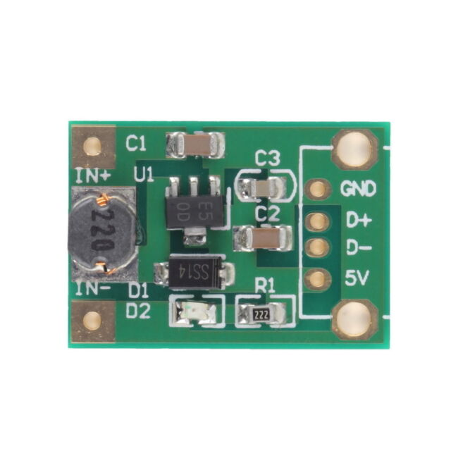 DC-DC Boost Converter Step Up Module 1-5V to 5V 500mA Power Module 1//2//3//5 PCS