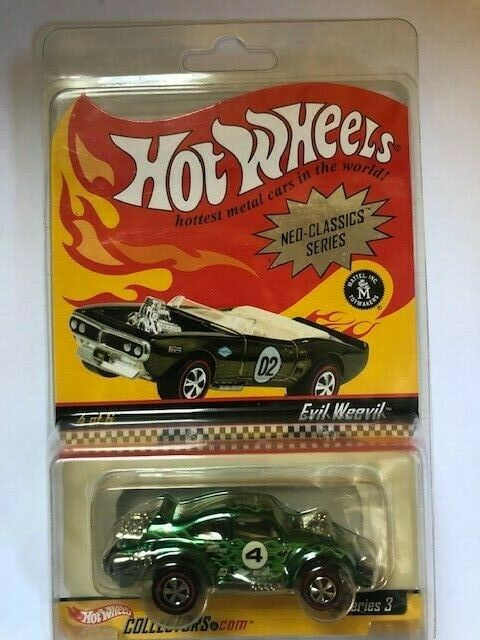 HOT WHEELS Moon eyes Evil Weevil Vw Volkswagen Beetle