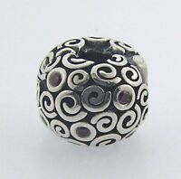 790962czr Retired Pandora Sterling Fire Wind Clip In Box
