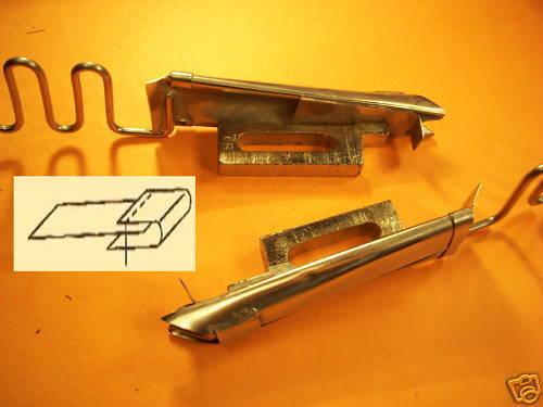 SINGER 111 W CONSEW 225 226R JUKI LU-562//563//1508 Raw Tape Binder Choisir Tailles