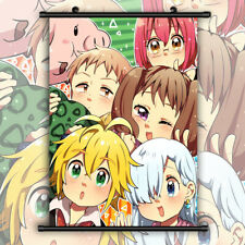 Nanatsu no Taizai HD Print Anime Wall Poster Scroll Room Decor
