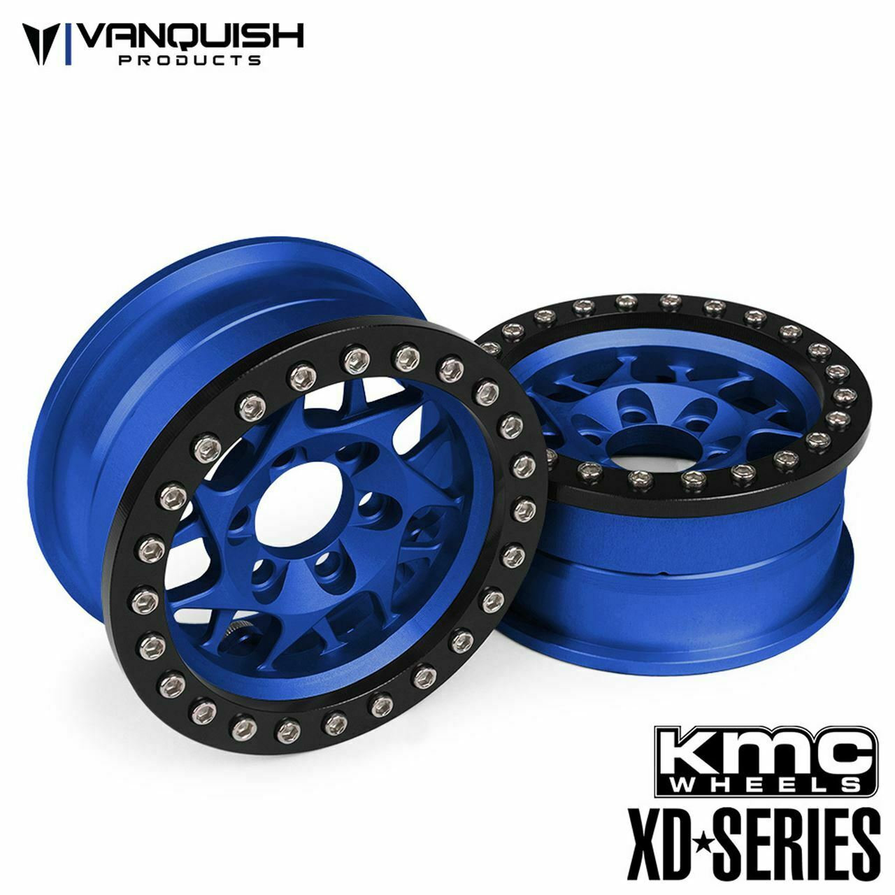 Vanquish  Products VPS07714 Kmc 1.9 Xd 127 Bully Blu Anodizzato  acquisti online