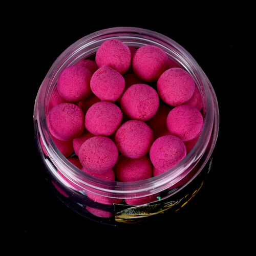 40pcs//box 10mm Smell Ups Carp Fishing Bait Boilies Floating Ball Beads FeedT TEU