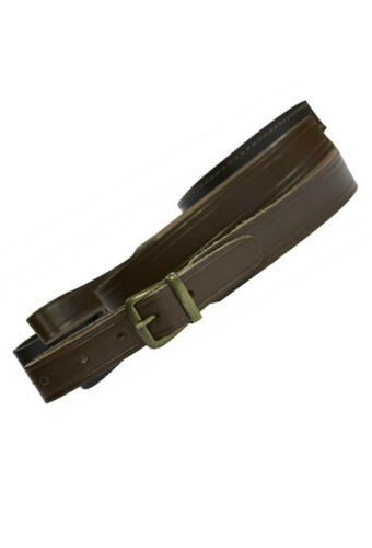Bisley BASIC FUCILE Shotgun Sling in Pelle Marrone 39-42 /""