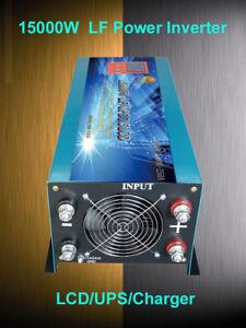 Home Improvement 60000w/15000w Lf Split Phase 48v Dc/110v,220vac 60hz Power Inverter 110v Charger Skillful Manufacture