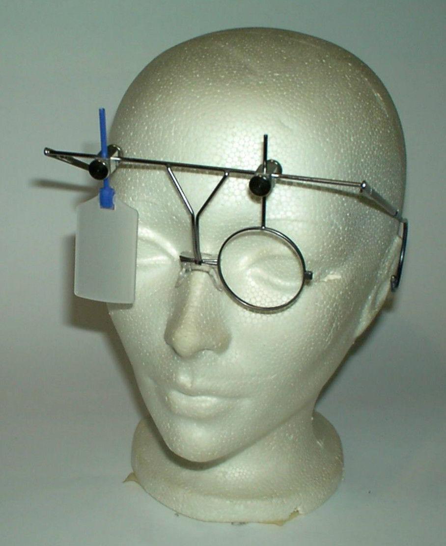 Left Basic Varga Merkur 37mm Pistol Shooting Glasses Frame