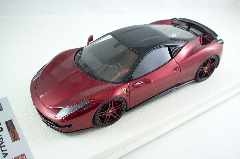 1 18 APM Ferrari 458 Italia Novitec rouge Metallic rouge One Off Davis Giovanni