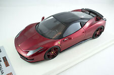1/18 APM Ferrari 458 Italia Novitec Rosso Metallic Red One Off
