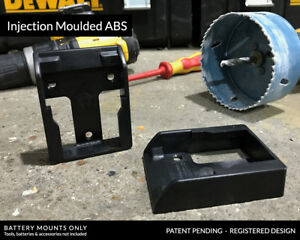 5x-Genuine-Stealth-Mounts-BATTERY-MOUNTS-for-DeWalt-20v-DCB200-DCB203-DCB204-DCB