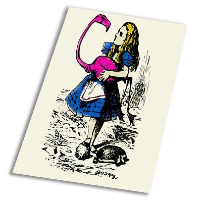Alice In Wonderland caterpillar A1 A2 A3 A4 A5 Vintage Art Print Poster