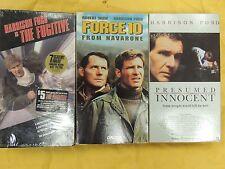 3 Harrison Ford VHS: The Fugitive, Force 10 From Navarone, Presumed Innocent