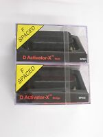 Dimarzio F-spaced D Activator X Neck & Bridge Humbucker Set Black