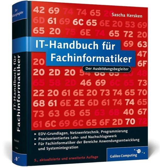 IT-Handbuch für Fachinformatiker von Sascha Kersken (2011, Gebunden)