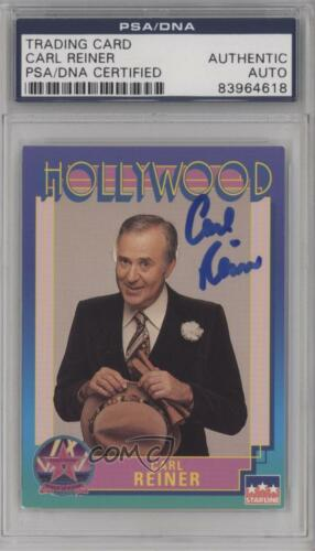 1991 Starline Hollywood #96 Carl Reiner PSADNA Certified Encased Card 1j6