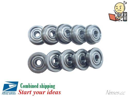 5 10 Pcs F623zz Flanged Ball Bearings CNC 3D Printer Kossel Prusa i3 1