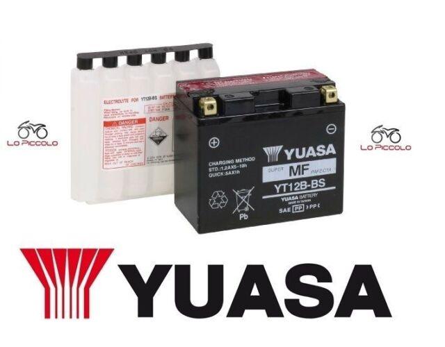 BATTERIA YUASA YT12B-BS DUCATI 999 S 998 2003 2004 2005 2006