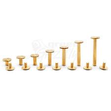 Belt Rivets Chicago Screws Studs Nail Head 6 8 10 14 18 25 29 mm Binding book