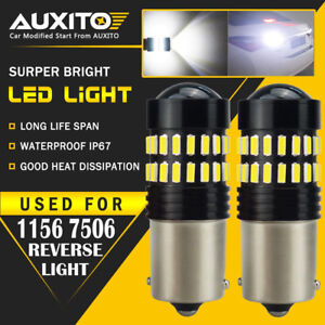 2X-AUXITO-BA15S-1156-P21W-7506-Reverse-Back-Up-Light-Super-White-LED-Bulb-EA