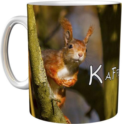 Eichhörnchen Geschenktasse Kaffeebecher Kaffeetasse
