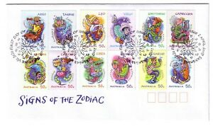 2007-FDC-Australia-Signs-of-the-Zodiac-PictFDI-034-SUNSHINE-034