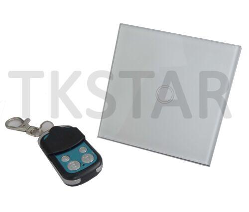 SmartHome Wifi Wlan 433Mhz Funk Touch Glas Einbau Licht Schalter Fernbedienung