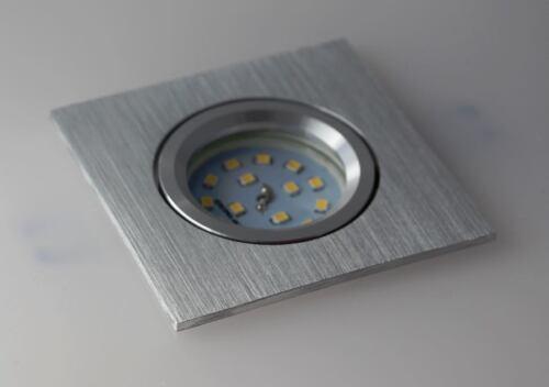 10 x Led Einbaustrahler Alu Spot Einbau 30mm 3step dimmbar neutralweiß #Flat4133
