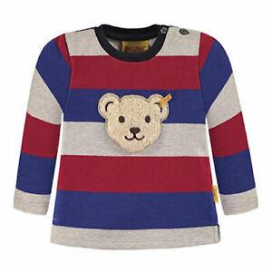 STEIFF Jungen Sweatshirt L016843673 Pullover Quitsche Teddy Pulli Squeeker NEU