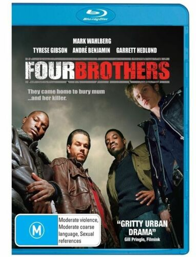 1 of 1 - FOUR BROTHERS - Mark Wahlberg (Blu-ray, 2008, Free Postage)
