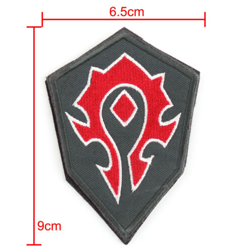 WOW World Of Warcraft Tribeterran Game Embroidered Hook /& Loop Patch B2 B2