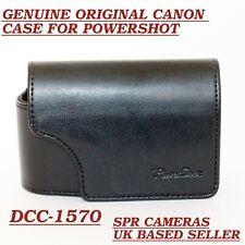 Funda Cámara Canon DCC-1570 Powershot De Cuero Para SX600 SX610 SX700 SX710 SX720