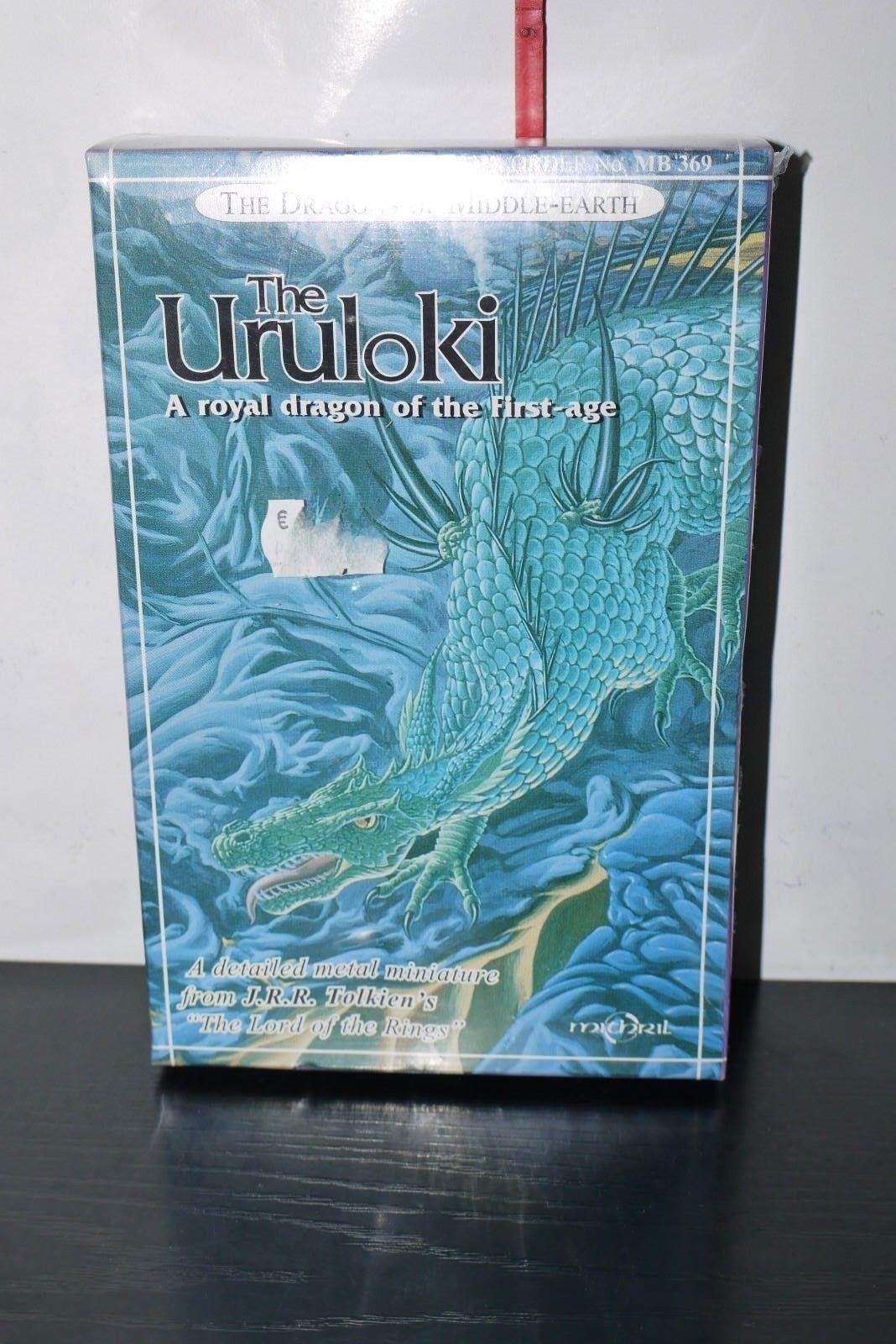 Mithril miniaturas LOTR Mini Uruloki dragones de tierra media MB 369 MIB