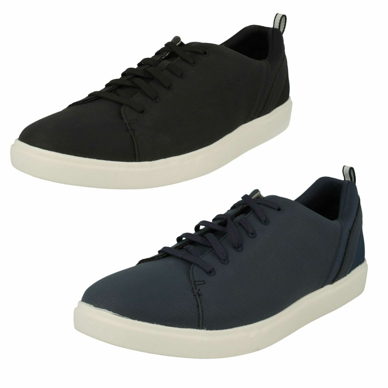 Mens Clarks Casual Trainers Step Verve Lo