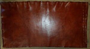 Tostado cuero regenerado oxidado fuera de Cortes marrón claro