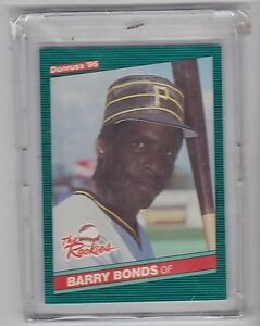 Details About 1986 Donruss The Rookies Baseball Barry Bonds Rookie Card 11