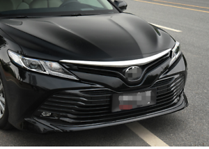 Chrome Front Engine Hood Lid Bonnet Cover Trim for Toyota Camry XV70 2018 2019