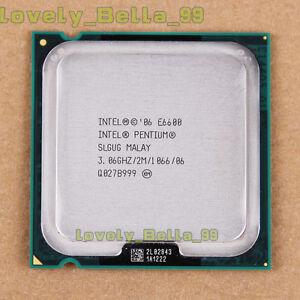 Intel Core 2 Duo E6600 2.4GHz Dual-Core (BX80557E6600) Processor ...