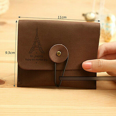 HOT SALE Vintage Suede Nostalgic Wallet Key Coin Bag Pouch Faux Leather Purse JC