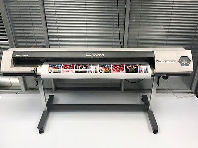 Roland Versacamm VP 540 Eco Solvent Printer Sign Making Print Cut Mimaki* |  eBay